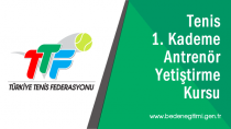 1. Kademe Tenis Antrenörlük Kursu