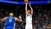 Mavericks Warriors'a fark attı